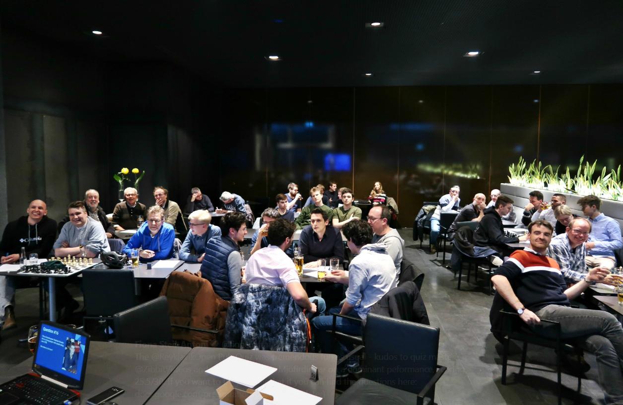 The 2019 Reykjavik Open Pub Quiz – Local winners